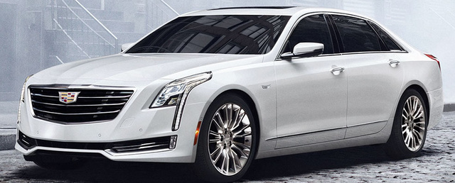 2018 Cadillac CT6, Front-quarter view, exterior, manufacturer, gallery_worthy