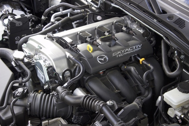 2017 Mazda MX-5 Miata, Engine of the of the 2017 Mazda Miata RF, engine, gallery_worthy