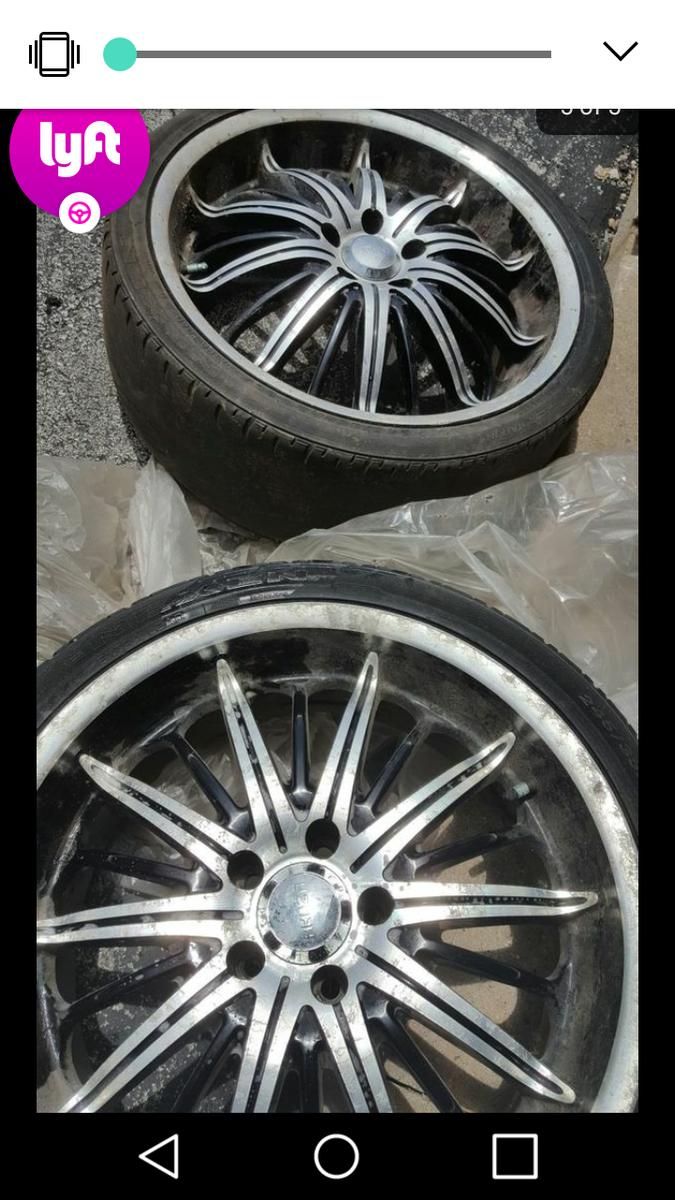 2008 impala new tires