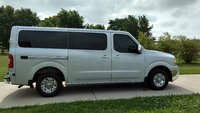 Picture of 2016 Nissan NV Passenger 3500 HD SL V8, exterior, gallery_worthy
