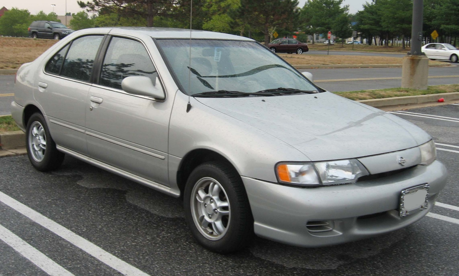 It Doesnt Appear So The Body Styles Are Completely Different And Two Have Bumper Designs Picture Is A 1999 Nissan Sentra