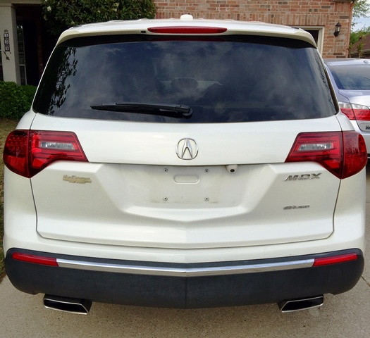 Acura Mdx Entertainment Package: 2013 Acura MDX