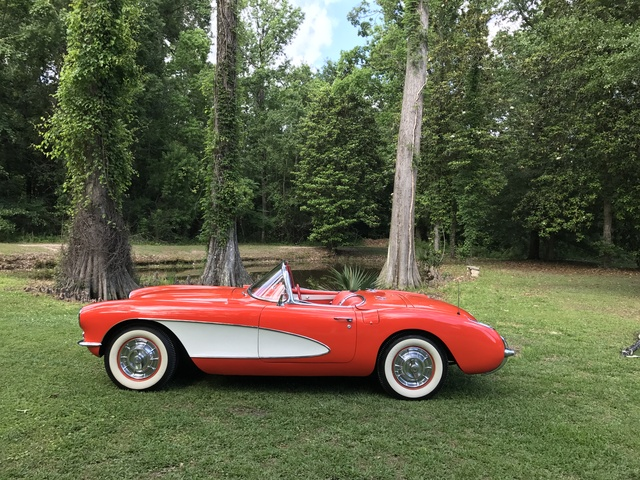 Picture of 1957 Chevrolet Corvette Convertible Roadster, exterior, gallery_worthy