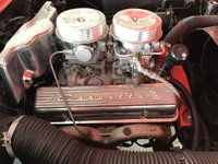 Picture of 1957 Chevrolet Corvette Convertible Roadster, engine