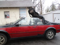 Picture of 1986 Pontiac Sunbird GT Turbo Convertible, exterior, gallery_worthy