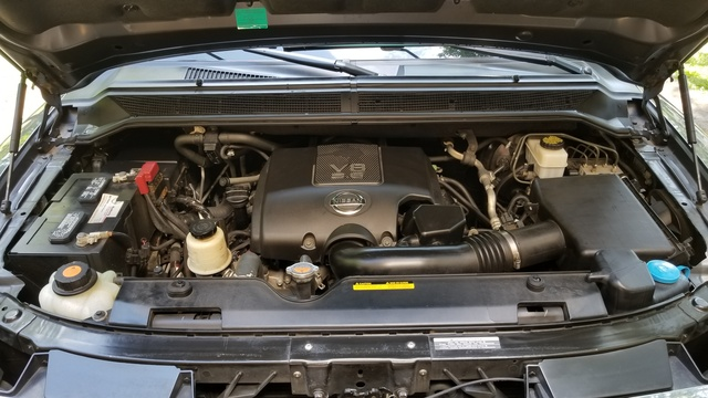 Picture of 2010 Nissan Armada Platinum 4WD, engine, gallery_worthy