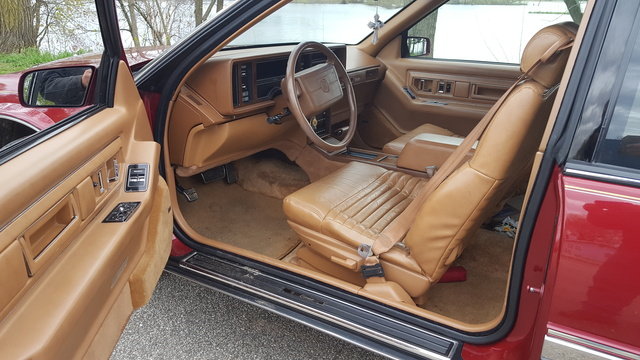1991 cadillac eldorado interior pictures cargurus 1991 cadillac eldorado interior