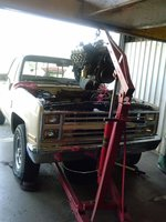 1985 Chevrolet C/K 20, NO REPLACEMENT FOR DISCPLACEMENT, engine