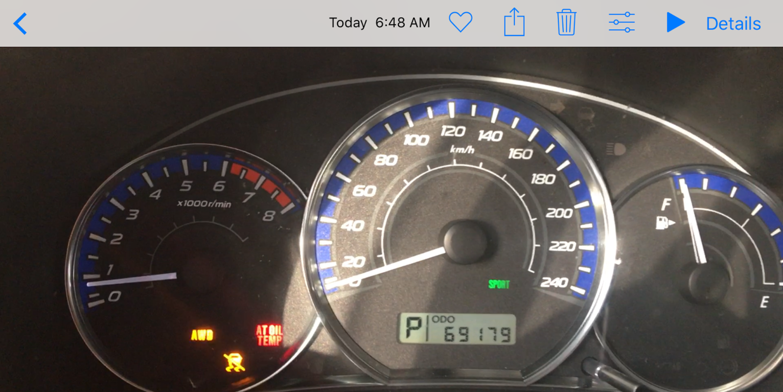 Subaru Forester All Warning Lights On Shelly Lighting