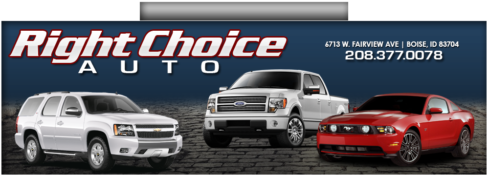 Right Choice Automotive >> Right Choice Auto - Boise, ID: Read Consumer reviews