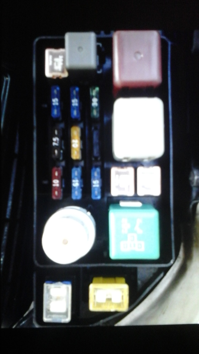 ... toyota camry now car will lag on starting after engine gets warm I used  a fuse box from a 94 I checked fuel pressure it's fine and fuses can some  one ...