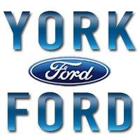 York Ford logo