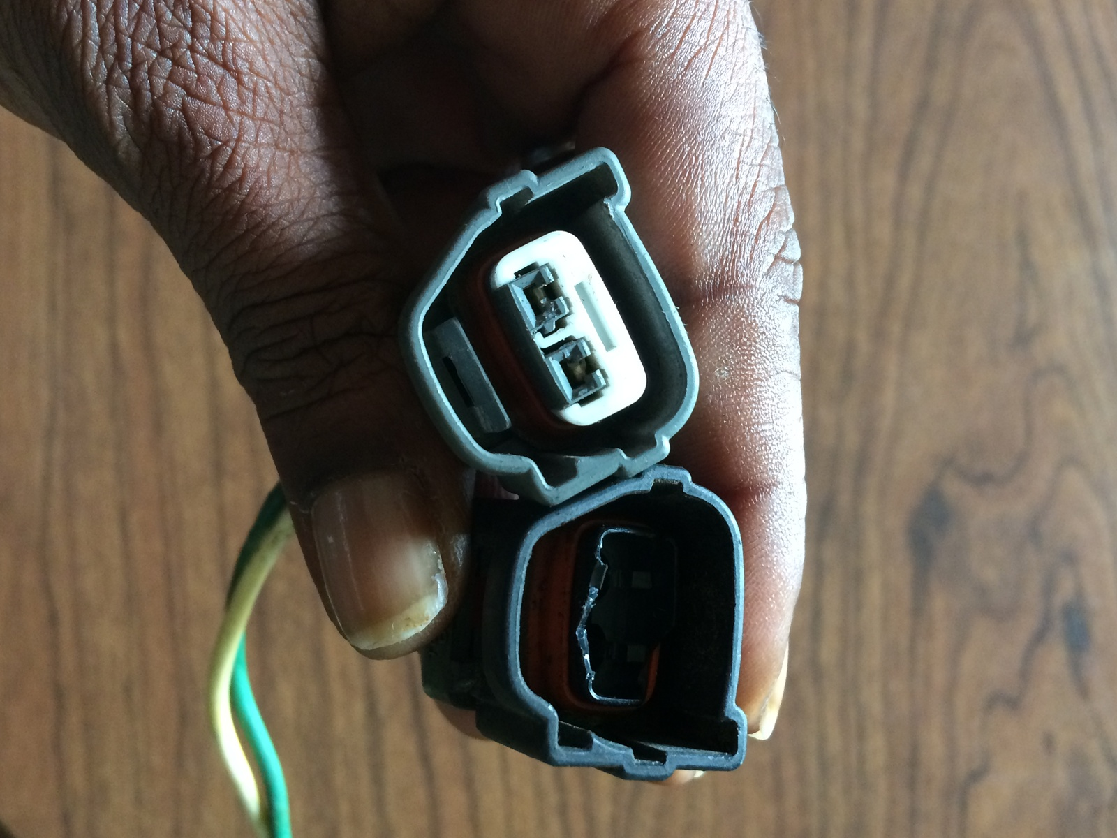 Hyundai Elantra Questions Where Can I Find An Engine Wiring Harness Adapter Additionally Nissan Car Audio He Is Going To Attempt Make A Pigtail Am Just Concerned That My Will Catch On Fire What Do You Think Cannot The Black One