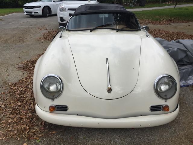 1956 Porsche 356 A Speedster, 1956 porsche replica started project with Dad in 1997, exterior, gallery_worthy