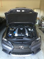 Picture of 2015 Lexus IS 350 Base, engine