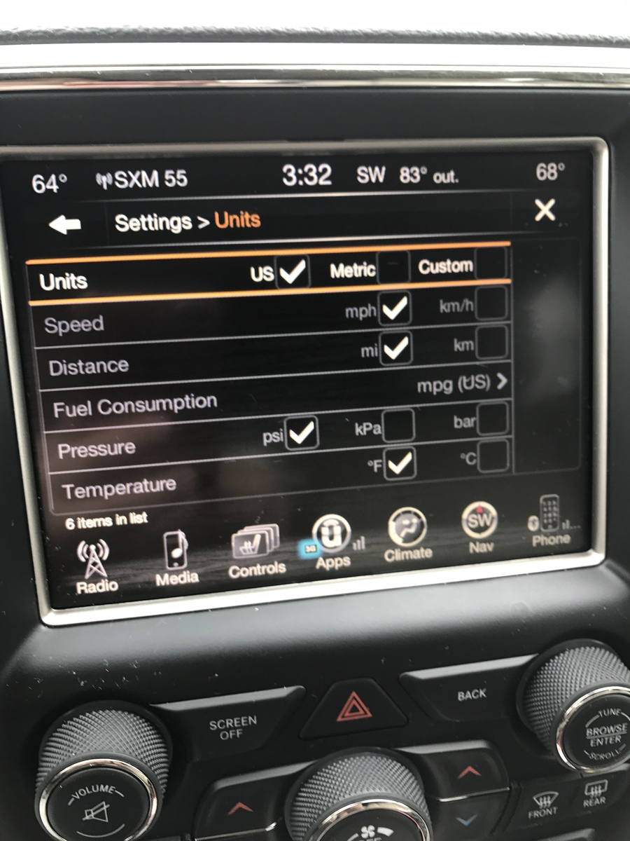jeep grand cherokee questions chang from km to miles cargurus