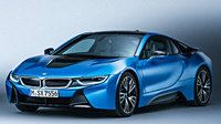 2017 BMW i8, Front-quarter view of European version., exterior, engine, gallery_worthy