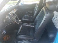1970 Ford Maverick, 1970 Maverick Grabber Blue fox body bucket seats, interior, gallery_worthy
