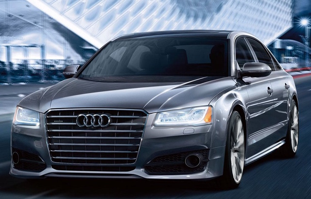 2017 Audi A8, Front-quarter view., exterior, manufacturer, gallery_worthy