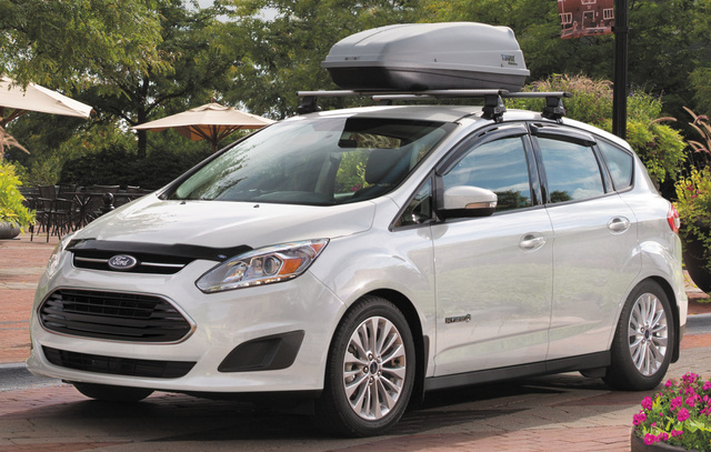 2017 Ford C-Max, Front-quarter view., exterior, engine, gallery_worthy