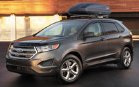 2017 Ford Edge, Front-quarter view., exterior, engine