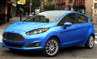 2017 Ford Fiesta, Front-quarter view., exterior, engine