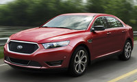2017 Ford Taurus, Front-quarter view., exterior, manufacturer, gallery_worthy