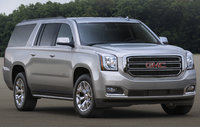 2017 GMC Yukon XL, Front-quarter view., exterior, engine