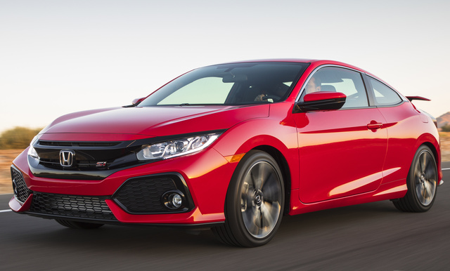2017 Honda Civic Coupe, Front-quarter view., exterior, manufacturer, gallery_worthy