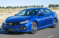 2017 Honda Civic, Front-quarter view., exterior, engine, gallery_worthy