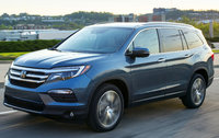 2017 Honda Pilot, Front-quarter view., exterior, manufacturer, gallery_worthy