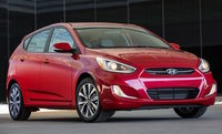 2017 Hyundai Accent, Front-quarter view., exterior, engine, gallery_worthy