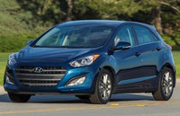 2017 Hyundai Elantra GT, Front-quarter view., exterior, engine, gallery_worthy