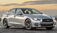 2017 INFINITI Q50, Front-quarter view., exterior, manufacturer, gallery_worthy