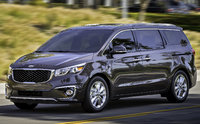 2017 Kia Sedona, Front-quarter view., exterior, engine, gallery_worthy