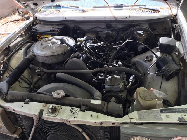 Picture of 1981 Mercedes-Benz 300-Class 300D Diesel Sedan, engine