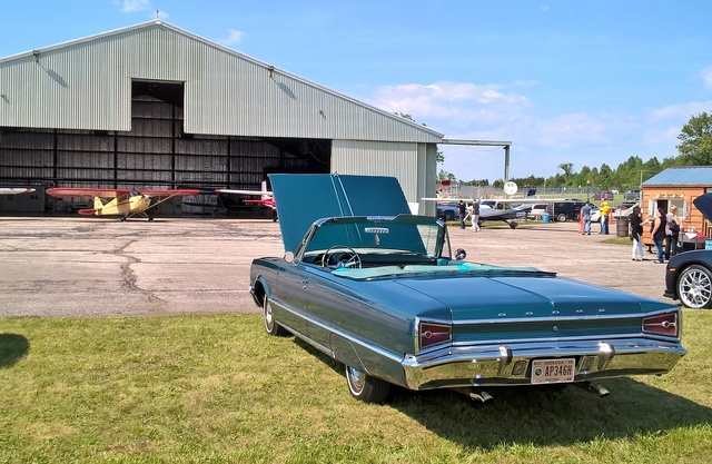 1965 Dodge Polara, At the Wings and Wheels Show at the Monroe County Airport near Bloomington, IN, exterior, gallery_worthy