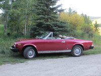 1978 FIAT 124 Spider, I purchased this car in 1986 with 107,000 miles on it.  It had been in California.  It had some dents and the seats were torn. So I had the body repaired and re-painted, Autumn M...
