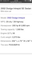 Picture of 2002 Dodge Intrepid SE