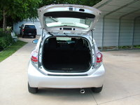 2012 Toyota Prius c Three, rear area and trunk- and trunk protector, interior