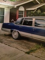 Picture of 1991 Cadillac Brougham Base Sedan, exterior