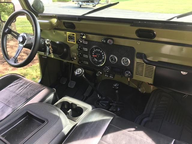1977 Jeep CJ-7 - Interior Pictures - CarGurus