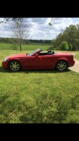 Picture of 2007 Cadillac XLR Passion Red Limited Edition, exterior