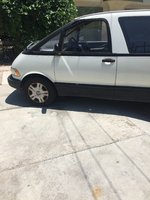 Picture of 1992 Toyota Previa 3 Dr LE Passenger Van, exterior