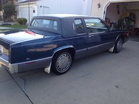 Picture of 1990 Cadillac DeVille Base Coupe, exterior