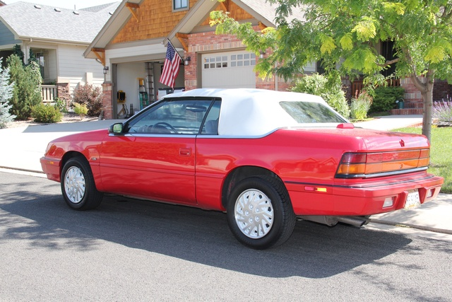 Picture of 1993 Chrysler Le Baron LX Convertible