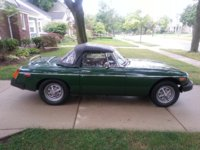 1977 MG MGB Roadster Picture Gallery