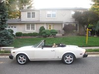 1982 FIAT 124 Spider Picture Gallery