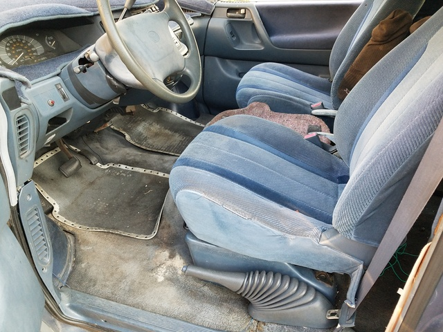 Picture of 1991 Toyota Previa 3 Dr LE Passenger Van, interior, gallery_worthy