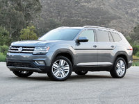 2018 Volkswagen Atlas SEL Premium 4Motion, 2018 Volkswagen Atlas SEL Premium in Platinum Gray, exterior, gallery_worthy